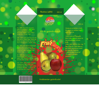 Box for apple and pear juice by Soleilka