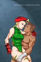 Commission: Sean and Cammy by R-Legend