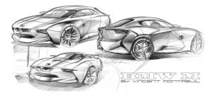 BMW - Free Sketch by Vincent-Montreuil