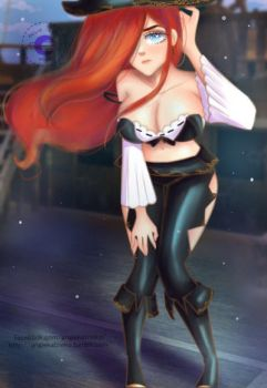 Miss Fortune by AngieKatNekoOfficial