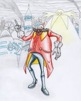 My Eggman design by MrARTism