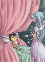 Pinocchio and fairy by Bakke