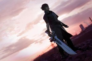 Final Fantasy - The Last Sunset by xXPretenderXx