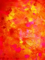 Hot Colored Paint Texture 1 by Shembre