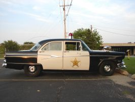 Vintage Police Car 4 by FantasyStock