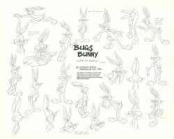 Bugs Bunny Model Sheet Ver. 9 by guibor