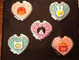 Adventure Time Cute Mirrors by sakuratard17