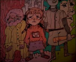 Yume Nikki + Off + Space Funeral by Mebuu