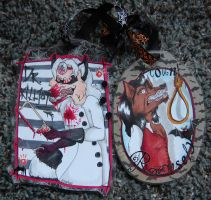 Killjoy+Ramsely Badges by AliceAlexia