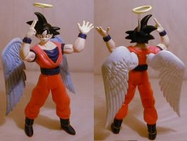 DragonballZ Angelic Goku custm by pgv