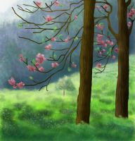 Landscape Painting by Anima-Lux-Artifex