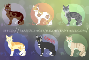 Kitty point adoptables OPEN by Manulfacture