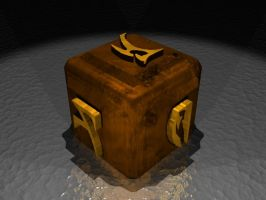 3D Rusty Box w. Daedric Runes by Lyle-the-Hobo
