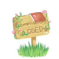 Commishes sign2 by Irojikan
