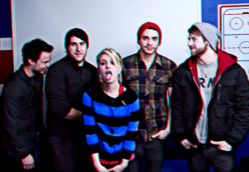 paramore in 3D by whyXXII