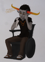 Tavros by Night-of-Void