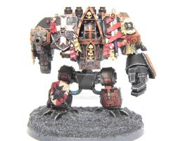 Black Templars Forge World Venerable Dreadnought. by Jenko249