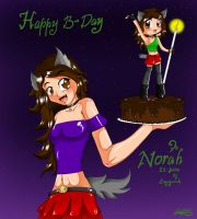 Happy B-Norah by Enyoiyourself