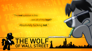The Pony of Wall Street by smokeybacon