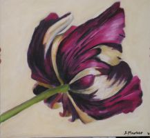 Oil Painting Flower by shirin2020