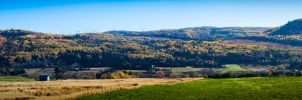 Autumn panorama by Alex7fold