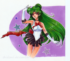 Sailor Pluto aka Setsuna by shidonii