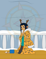 Robin's Winter Treat 3 by Dragon-FangX
