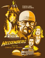 Heisenberg and the Cartel of Death by ninjaink