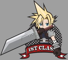 1ST CLASS [Cloud Strife] by Ruwah