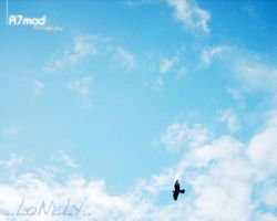lonely bird by A7mads