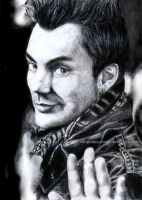 Shannon Leto drawing - 30 STM by MySpotlessMind