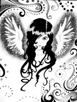 MonoChromo Angel: Fini by Beloved-chan