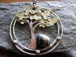 Jasper Tree Necklace by MoonLitCreations