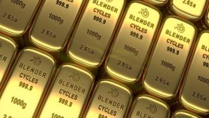 Blender Cycles Gold Ingots by elbrujodelatribu