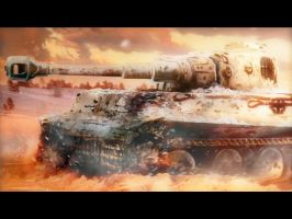 Tiger Tank by Arctic-RevoIution