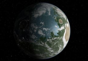 Terraformed Mars by Neethis