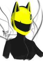Celty - Durarara!! by RoundCottonCandy