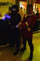 AWA 2012 Cosplayers - Static and Starfleet by LordNobleheart