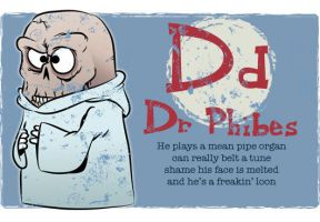 D is for Dr Phibes by Ape74