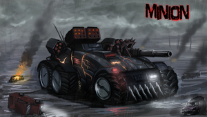 MINION -Twisted Metal Redesign by Helios437