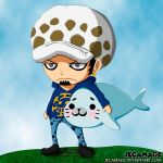 Trafalgar D. Water Law Ver. Chibi by Jecamage