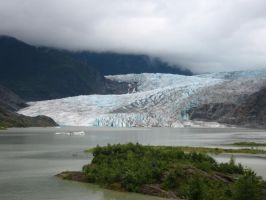 Menden Hall Glacier by bodahlives88