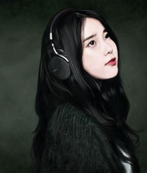 IU : Sony Headphone commercial by raretak