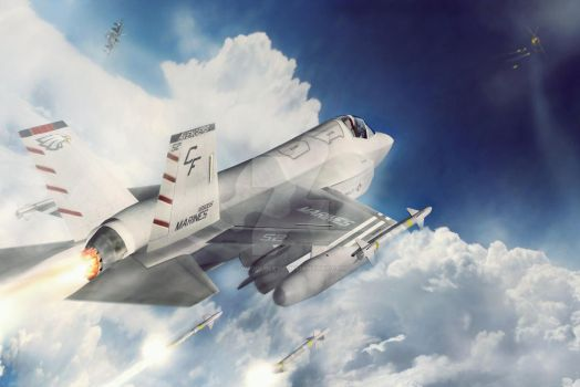 F35 Joint Strike Fighter - Dogfight by Vi2DoubleYu