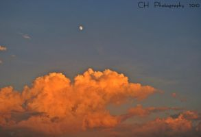 moon and clouds by Da-Cha-Cha