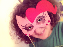 Pinkie Pie Masquerade Mask by LizziePotatoPad