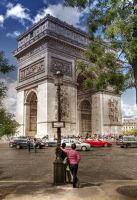 Arc de Triomphe I - Paris by ThomasHabets