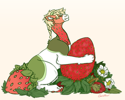 Strawberry Field by GoredGuar