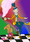 The Mad Hatter by RainbowFishy-chan