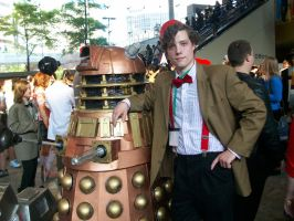 Me and the Dalek by Rustheart